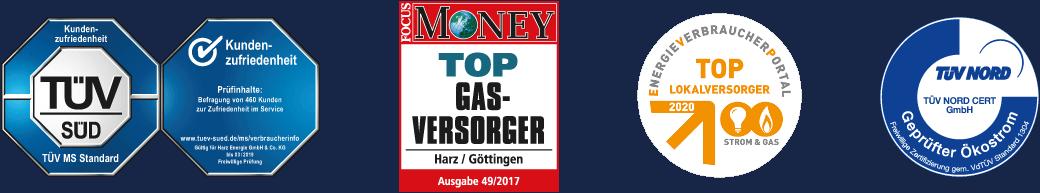 HarzEnergie Auszeichnungen